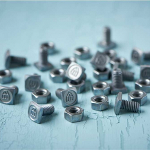 Square bolts and screws